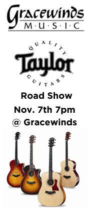 Taylor Guitars Road Show at Gracewinds Music