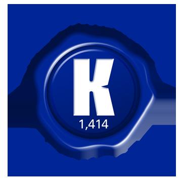 Korg Dealer Seal 1414